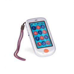 B. TOYS Dotykowy Telefon Komórkowy Srebrny BX1697