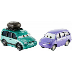 Mattel CARS Dwupak MINNY I VAN DXW06