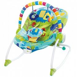 Bright Starts Huśtawka Leżak Siedzisko dla Dziecka SAFARI 10316
