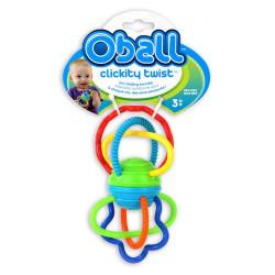 OBALL Zabawka Sensoryczna Gryzaczek KLIK KLIK 5087