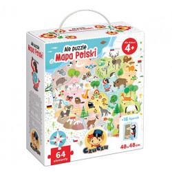 CzuCzu Ale Puzzle MAPA POLSKI 490111