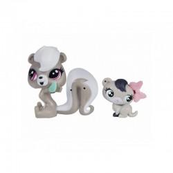 Hasbro - A8425 - A7313 - Littlest Pet Shop - Zestaw z Akcesoriami - Pepper Clark i Dawn Ferris