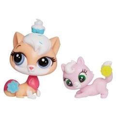 Hasbro - A8428 - A7313 - Littlest Pet Shop - Zestaw z Akcesoriami - Sugar Sprinkles i Ripley Davis
