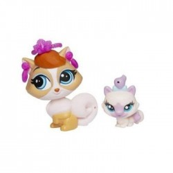 Hasbro - A8427 - A7313 - Littlest Pet Shop - Zestaw z Akcesoriami - Madame Pom LeBlanc i Paprika Price