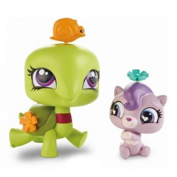 Hasbro - A8430 - A7313 - Littlest Pet Shop - Zestaw z Akcesoriami - Ozzie Shellstein i Nash Cuddlesworth