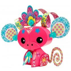 Mattel - BHN44 - BLV36 - AmiGami - Zwierzątka do Dekoracji - Małpka