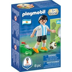 PLAYMOBIL Piłkarz Reprezentacji Argentyny 9508
