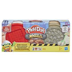 PLAY-DOH Zestaw Wheels Ciastolina TUBY BUDOWLANE E4508