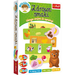 TREFL Gra Edukacyjna ZDROWE SMAKI 01739