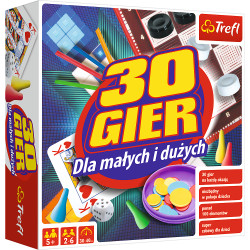 TREFL Zestaw 30 Gier dla Małych i Dużych 00745