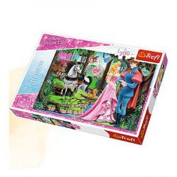 TREFL Puzzle Układanka 200 el. Śpiąca Królewna SPOTKANIE W LESIE 13223