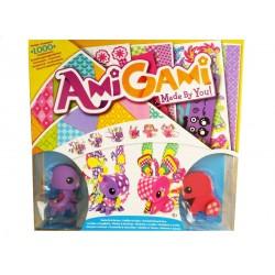 Mattel - DFM32 - AmiGami - Zwierzątka do Dekoracji - Motylek i Króliczek