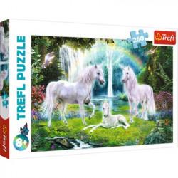 TREFL Puzzle 260 Elementów JEDNOROŻCE 13240
