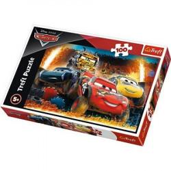 TREFL Puzzle 100 Elementów CARS AUTKA 16358