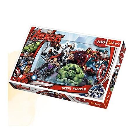 TREFL Puzzle 100 Elementów AVENGERS 16272