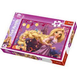 TREFL Puzzle 160 Elementów ROSZPUNKA 15194