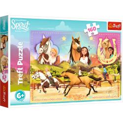 TREFL Puzzle 160 Elementów SPIRIT Trzy Przyjaciółki 15370
