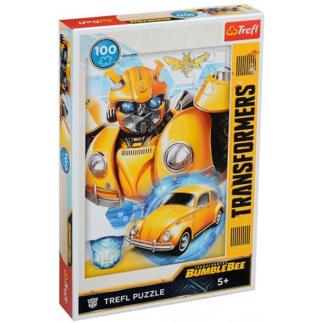 TREFL Puzzle 100 Elementów TRANSFORMERS Bumblebee 16355