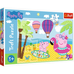 TREFL Puzzle Maxi Układanka 24 el. ŚWINKA PEPPA 14293