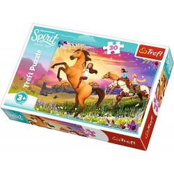TREFL Puzzle 30 Elementów SPIRIT Duch Wolności 18250