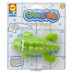 Alex Toys - 849 - Zabawki do Kąpieli - Nakręcany Krokodyl