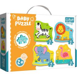 TREFL BABY Puzzle ZWIERZĘTA SAFARI 36073