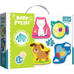 TREFL BABY Puzzle ZWIERZĘTA 36074