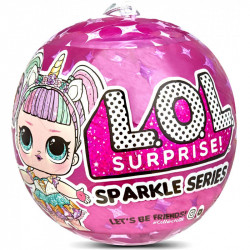 L.O.L SURPRISE Sparkle Series Błyszcząca Laleczka w Kuli 560296