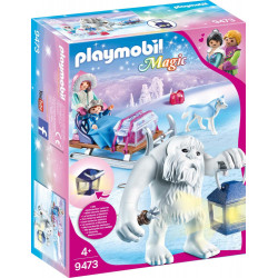 PLAYMOBIL 9473 Magic Zimowy Troll z Sankami