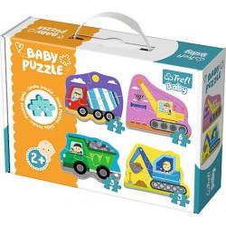 TREFL BABY Puzzle POJAZDY BUDOWLANE 36072