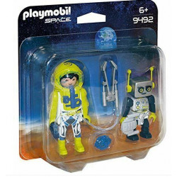 PLAYMOBIL 9492 Space Duo Pack Astronauta i Robot
