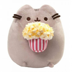 PUSHEEN Maskotka Welurowa Pusheen z Popcornem 4061300