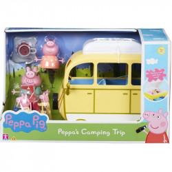 TM TOYS Świnka Peppa Wycieczka Kempingowa Samochód+Figurki 06922