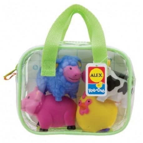 Alex Toys - A700 - Zabawki do Kąpieli - Farma
