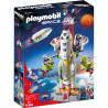 PLAYMOBIL Space 9488 Rakieta Kosmiczna z Rampą Startową