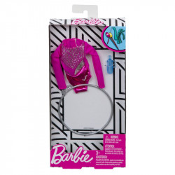 MATTEL Akcesoria dla Lalki Barbie STRÓJ GIMNASTYCZKI FXH99