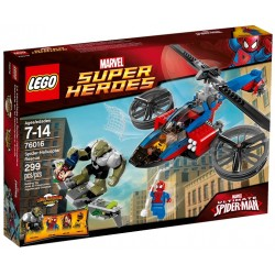 LEGO SUPER HEROES 76016 Spiderman Centrum Ratunkowe
