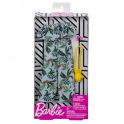 MATTEL Akcesoria dla Lalki Barbie Zestaw Ubranek KOSTIUM W KWIATY FXJ04