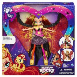 Hasbro - B1041 - My Little Pony - Equestria Girls - Rainbow Rocks - Sunset Shimmer Ze Skrzydłami