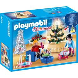 PLAYMOBIL 9495 Christmas SALON W ŚWIĄTECZNYM WYSTROJU