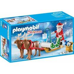 PLAYMOBIL 9496 Christmas SANIE ŚWIĘTEGO MIKOŁAJA Z RENIFERAMI