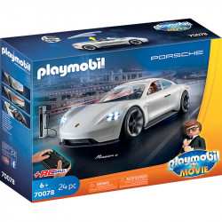 PLAYMOBIL 70078 The Movie PORSCHE MISSION E AGENTA REXA