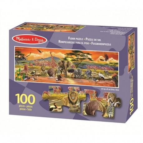 Melissa & Doug - 12873 - Puzzle 100 - Safari