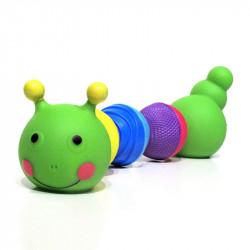 Lalaboom Zabawka dla Malucha ZRĘCZNA GĄSIENICZKA 61082