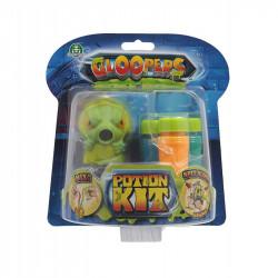 Gloopers Slime Stworek z glutkiem KOLOR LIMONKOWY 69744
