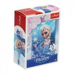 TREFL Puzzle MINI 54 Elementy MINI UKŁADANKA Kraina Lodu Frozen Elsa 19500
