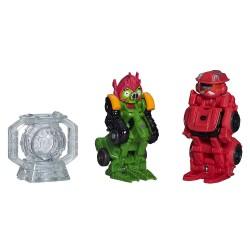 Hasbro - A84625 - A8385 - Dwie Figurki z Telepodem - Angry Birds - Transformers - Sentinel Prime Bird i Deceptihog Bludgeon