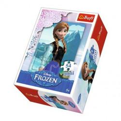 TREFL Puzzle MINI 54 Elementy MINI UKŁADANKA Kraina Lodu Frozen Anna 19501