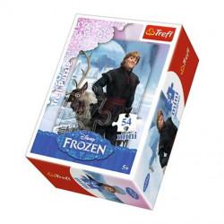 TREFL Puzzle MINI 54 Elementy MINI UKŁADANKA Kraina Lodu Frozen Kristoff 19503