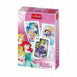 TREFL Karty do gry w Piotrusia Księżniczki Disney 4603